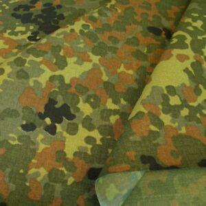 Bundeswehr Camouflage extrem reißfest u wasserdicht Meterware Cordura Tarn-Stoff