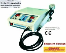 Chiropractic Portable Ultrasound Therapy Physical Machine Pain Relief Therapy W