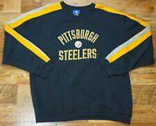 ���️ REEBOK NFL Pittsburgh Steelers American Football Sweatshirt Top Navy Size XL