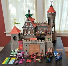 Playmobil Medieval Knights Castle 3666 + Lots of Extras, Dragon, Not Complete