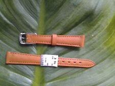 BRACELET MONTRE CUIR VÉRITABLE veau // MARQUE COBRA /  marron/ 14mm / REF:.TV45