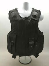 More details for ex police global armour body armour black dual purpose vest security obsolete