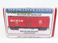 HO Scale Branchline 9016 MON Monon 50' AAR Single Door Box Car #9193 Kit