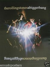 """Rolling Stones """" Bigger Bang & Rücken With A """" Poster - 2 in 1 Angebot"""