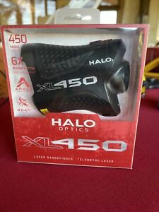 HALO OPTICS XL450 LASER RANGEFINDER 450 YARDS 6X MAGNIFICATION BRAND NEW IN BOX