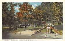 Pen Mar Pennsylvania Childrens Playground Antique Postcard K78418