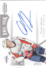 2011/12 Panini Contenders NHL Ink Cody Eakin autograph Capitals Stars