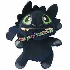7'' How to Train Your Dragon Toothless Night Fury Stuffed Animal Plush Toy Doll