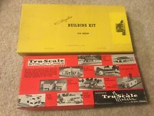 Suydam Building Kit Meat Packing Plant & Tru-Scale Structures Lumber Yard HO