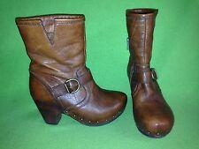 Brown Miz Mooz Howser Ankle Boots 6.5