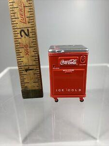 Vintage Coke Cooler Miniature 1/24 Scale G Scale Diorama Accessory Item