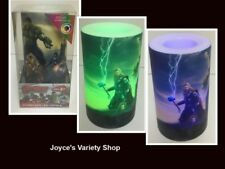One Flameless LED Candle Avengers Flicker Color Changing NIB AA Batteries