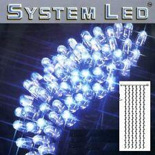 System LED Lichtervorhang extra 204er 1x4m blau / schwarz 465-59-14