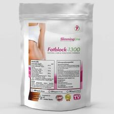 250 Capsules x VERY STRONG FAT BURNER - Diet Slimming Pills, FAT BLOCK 1300