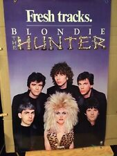 Blondie 'Hunter' Promo Poster 22x34 small staple holes on corners otherwise Mint