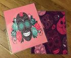 Sugar Skulls Front/Back Cover Set for use w/ Erin Condren Planner