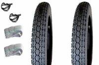 Reifensatz 3,50-19 Mitas passend für MZ BK350 NSU EMW BMW R35 Zündapp Oldtimer