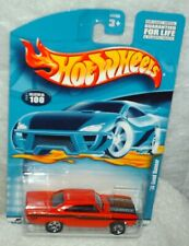 Hot Wheels 2001 # 100 '70 Plymouth Road Runner 440 red,black int,ex.card