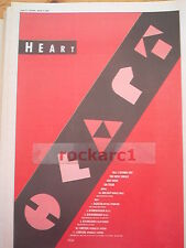HEART All I Wanna Do 1990 UK Poster size Press ADVERT 16x12 inches