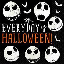 Halloween Party Supplies Nightmare before Christmas Jack Skellington Serviettes