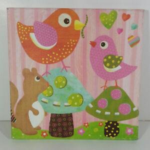 Love & Nature Bird Buddies Animal Art Canvas Wall Decor Oopsy Daisy Too Fine Art