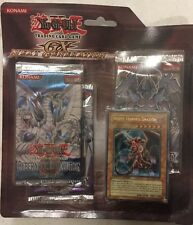 Yugioh GX Blister Pack Boosters And White-horned Dragon Promo Card TCG CCG