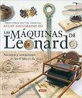 Atlas ilustrado de las máquinas de Leonardo. ENVÍO URGENTE (ESPAÑA)