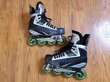 Mission Soldier Se Inline Roller Hockey Skates Size 9D 10.5 Us Men Shoe Excellen