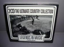 The Ultimate Country Collection ~ Various Artists - 2 CD - NEUF