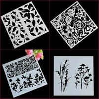 7 Styles Wedding Flower Pattern Cookie Mould Fondant Stencil Cake Mold
