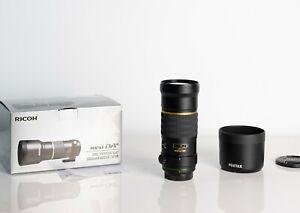 PENTAX SMC DA 300mm F4 STAR ED Telephoto Auto Focus Lens IF SDM K mount Exc+ AU