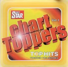 VARIOUS ARTISTS  –  CHART TOPPERS VOL. 1 (TOP HITS THROUGH THE DECADES) CD