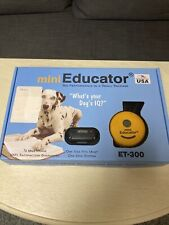 New listing E-Collar Technologie Mini Educator Et-300 Remote Off Leash Dog Training 1/2 Mile