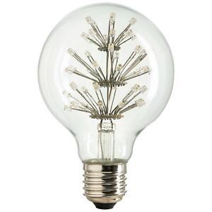 SUNLITE 80139-SU LED Vintage Star 1.8w Light Bulb Medium (E26) Base Warm White