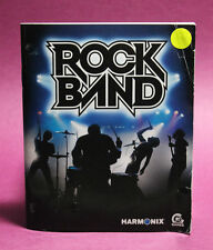 INSTRUCTION BOOKLET/MANUAL FOR ROCK BAND PS3 (NO GAME) ⭐OZ SELLER⭐ FAST POST !!!