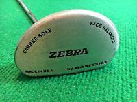 """mm2964 / RAM Zebra Face Balanced Camber Sole Putter / RH / ~35.5"""" Steel / WINN"""