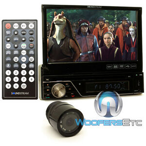 "pkg SOUNDSTREAM VR-7830B 7"" TV CD DVD USB BLUETOOTH + XO VISION HTC36 CAMERA NEW"