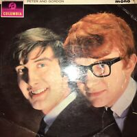 POST FREE - PETER AND GORDON  Disc VG+, Sleeve GD. VINYL MONO 2nd Class Post