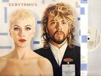 THE EURYTHMICS revenge (with lyric inner) LP EX/EX- PL 71050 synth pop, pop rock