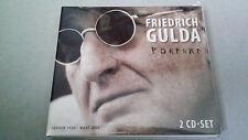"FREDERICH GULDA ""PORTRAT"" 2 CD COMO NUEVO DIGIPACK 4011222240637"