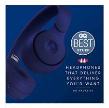 Beats Solo Pro Wireless Noise Cancelling On-Ear Headphones - Dark Blue.