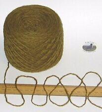 100g Mustard Green Tweed 100% Scottish Wool Double knitting yarn dk Kingarth