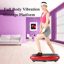 Vibration Plate Machine Whole Body Vibration Platform Fitness Machine Workout !