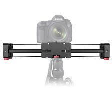 "Mcoplus Portable 3/8"" Adjustable DSLR Video Camera Slider 400mm Double Distance"
