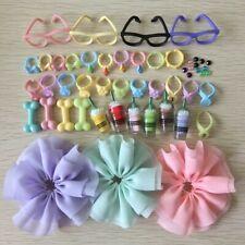 Clothes Skirt Accessories Phone Necklaces Glassess (10Pcs Random) Suit for Lps