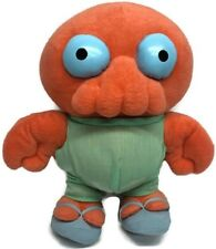 "Futurama Dr. Zoidberg Toynami Plush 11"" Missing Coat As IS"