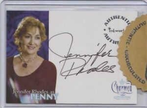 Charmed Conversations Autograph Trading Card Jennifer Rhodes as Penny (Razor)