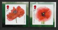 GB 2018 The Great War 1914-18 Poppies self adhesive booklet stamps MNH