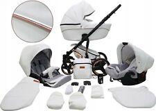 Comodo Carro Cuero De Bebé 3 Piezas Carritos y sillas de paseo último modelo