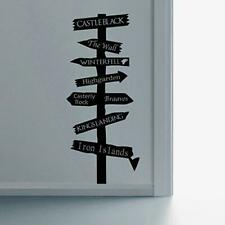 Game Of Thrones Inspired Road Sign Wall Art Vinyl Decal Sticker